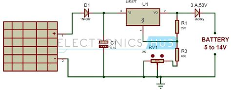 Solar Battery Charger Circuit Electronics