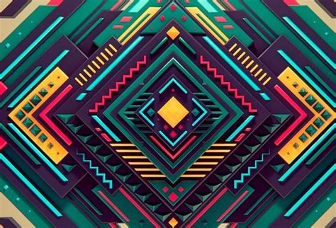 Abstract Geometric Shapes In by Usage Of Geometric Shapes In Graphic Design Articles