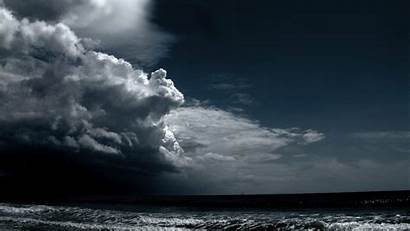 Dark Storm Ocean Resolution Wallpapers Definition Clouds