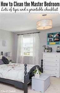 How to Clean the Master Bedroom - Clean and Scentsible