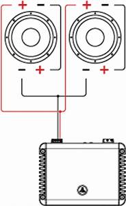 Jl audio header support tutorials tutorial wiring for Wiring 2 dvc subs in parallel