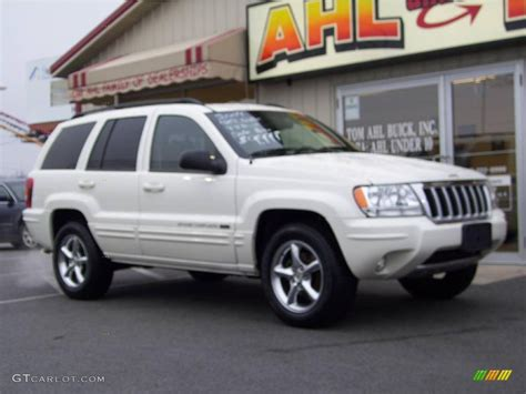 jeep cherokee white 2004 stone white jeep grand cherokee limited 4x4 25062278