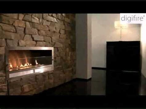 Ethanol fireplace, Ventless modern fireplace for architect