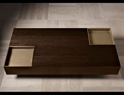 nella vetrina yves luxury italian coffee table  mocha