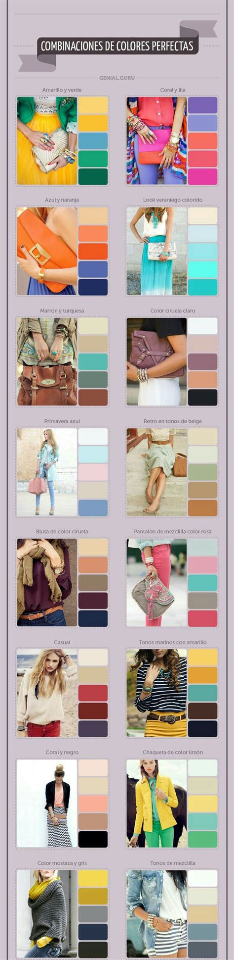 color combination for clothes 25 best ideas about fashion color combinations on