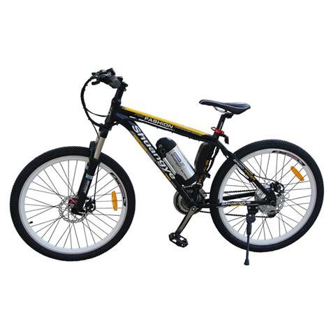 26 Inch Alloy Frame 36v Mountain Bike Electric Shuangye