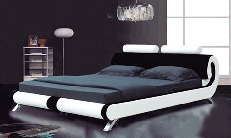 overstock king bed modern king size beds kota platform bed overstockcom and