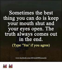Sometimes the Best Thing You Can Do Is Keep Your Mouth ...