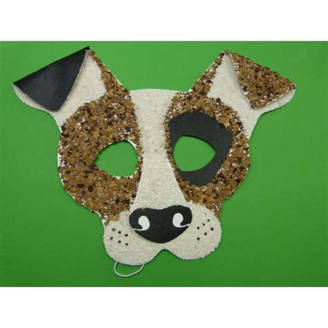 einfache tiermasken basteln faschingsmaske hund einfache bastelidee f 252 r kindermasken basteln