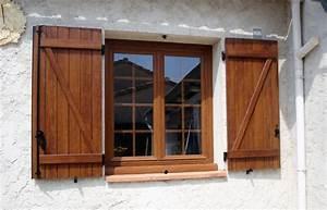 Prix Fenetre Bois : installation d 39 une fen tre pvc 2 vantaux couleur faux bois ~ Edinachiropracticcenter.com Idées de Décoration