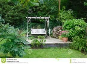 garden patio royalty  stock photo image