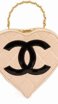 Chanel Vintage CC Logo Heart Shaped Handbag | Vintage ...