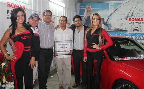 Sonax Estrena En Lima Su Nuevo Car Wash Cafe