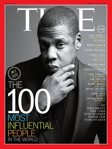time magazine names jay      influential