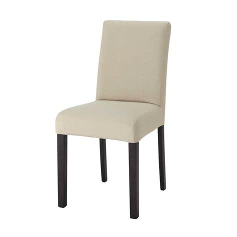 housse de chaise en coton mastic tempo maisons du monde