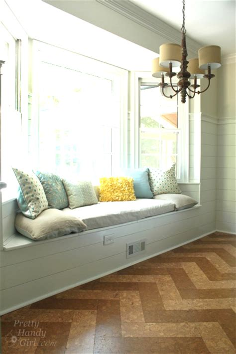 Building A Window Seat With Storage In A Bay Window