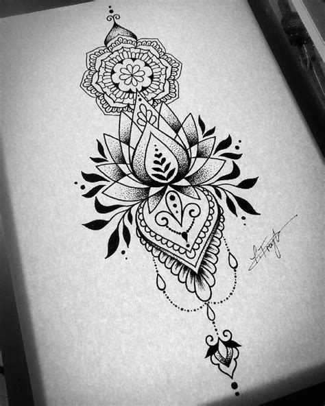 #lotusmandala #lotusflower #geometriclotus #geometricalflower #flower #dotworklotus #lotussketch