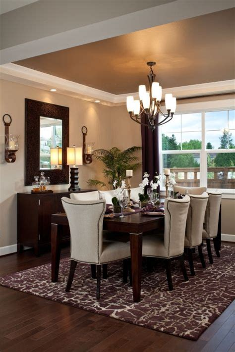 Charming Brown Dining Room Decor With Best 25 Brown Dining