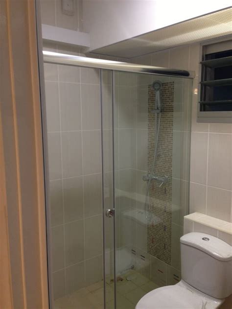sliding shower screen intradesign my bto hdb home