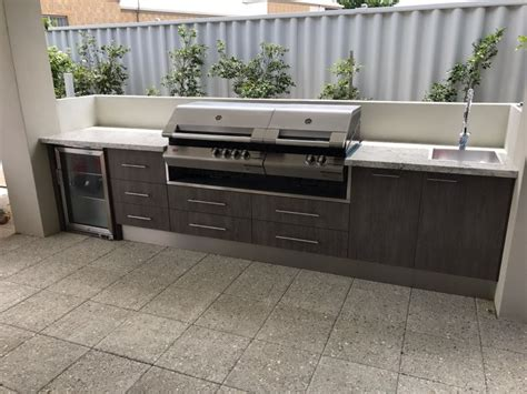 outdoor kitchen cabinets perth outdoor alfresco kitchens designed for perth 3839