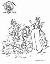 Coloring Rumpelstiltskin Fairytale Rumplestilskin Fairytales Musical Problem Sheet Oguchionyewu sketch template