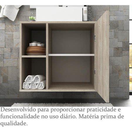 Gabinete para Banheiro sem Cuba Anne 60cm - Bosi ...