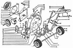 Bunton  Bobcat  Ryan 9005s Parts Diagram For Main Assembly