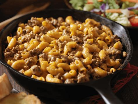 This made from scratch cheesy pasta recipe is made from ingredients you likely have in your pantry/refrigerator right now! Cheeseburger Macaroni | Certified Hereford Beef