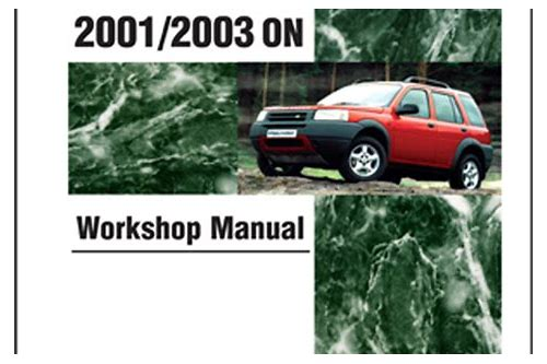descarga de manual freelander 2001