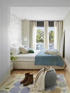 Kleine Zimmer Einrichten Ikea : kleines schlafzimmer einrichten 55 stilvolle wohnideen ~ Markanthonyermac.com Haus und Dekorationen
