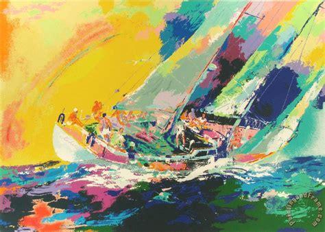 leroy neiman hawaiian sailing painting hawaiian sailing