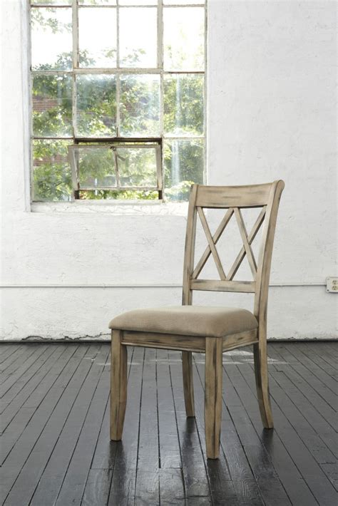 mestler side chair by mestler antique white dining uph side chair set of 2