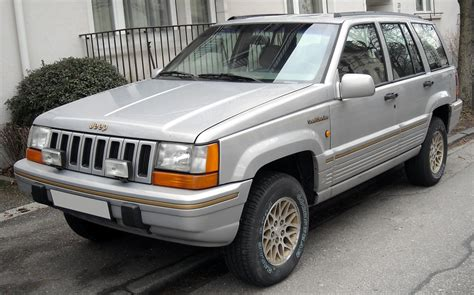 jeep grand zj jeep grand zj technical details history photos