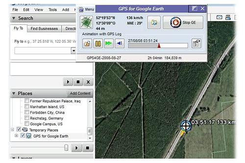 google earth gps tracker baixar gratuitos