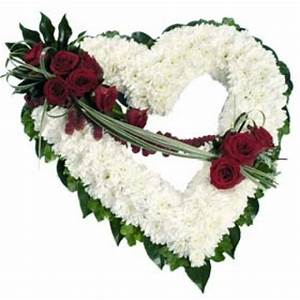 Open Heart Funeral Wreath