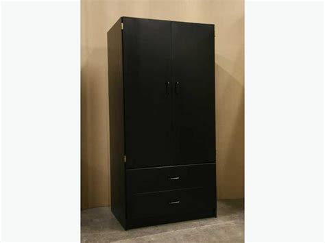 brand new black wardrobe closet armoire richmond vancouver
