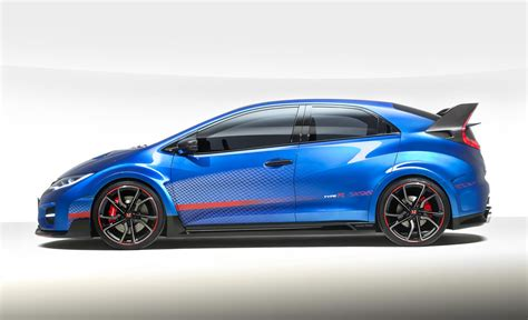 Honda Unveils Civic Type R Concept Ii, Says It's Faster