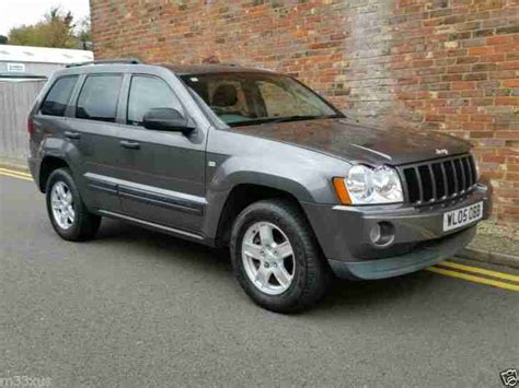 2005 grey jeep grand cherokee jeep grand cherokee crd auto grey 2005 only 47 000 miles