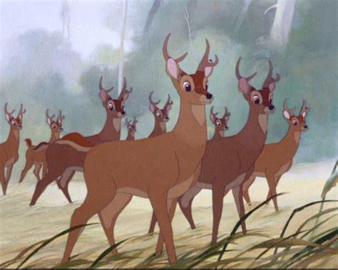 Running Deer-bambi By Guardianwolf666 On Deviantart
