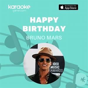 Bruno Marsu002639s Birthday Celebration Happybdayto