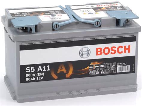 S5 A11 Bosch Agm Car Battery 12v 80ah Type 115