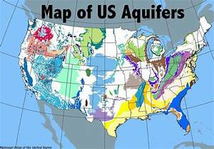 Water  Map Of Aquifers In The Usa