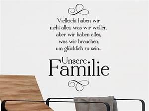 Tattoos Für Die Wand : wandtattoos f r die familie sch ne familienspr che als ~ Articles-book.com Haus und Dekorationen