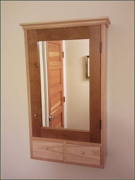 White Medicine Cabinet With Mirror And Lights Home