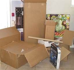 How to Make a Cardboard Box House