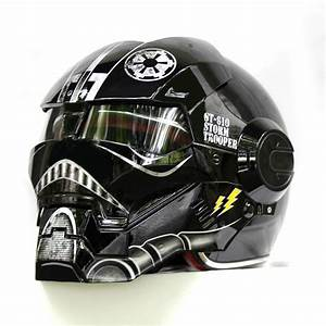 NEW Black Star Wars MASEI IRONMAN Iron Man helmet ...