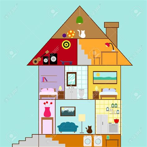 basement clipart black and white house cross section clipart basement house interior in a