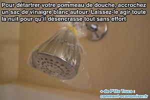 Enlever Calcaire Robinet : enfin une astuce pour d tartrer un pommeau de douche sans ~ Melissatoandfro.com Idées de Décoration