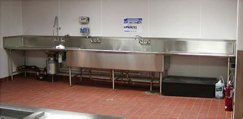 Stainless Steel Sinks for Commercial Food Service and ...