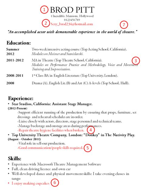 What Is A Resume Cv Title by All Purpose Cv Career Centre